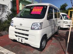 沖縄の中古車 ダイハツ ハイゼットカーゴ 車両価格 57万円 リ済込 平成26年 9.9万K ホワイト