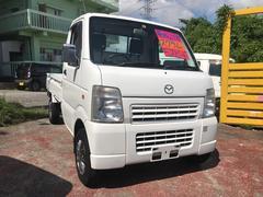 沖縄の中古車 マツダ スクラムトラック 車両価格 42万円 リ済込 平成21年 9.3万K ホワイト