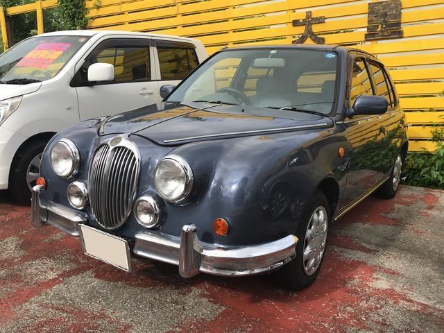 うるま市 大里自動車商会 ミツオカ ビュート ベースグレード グレー 19.3万km 1995(平成7)年