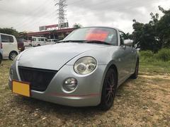沖縄の中古車 ダイハツ コペン 車両価格 59万円 リ済込 平成16年 12.2万K シルバー