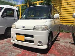 沖縄の中古車 ダイハツ タント 車両価格 19万円 リ済込 平成16年 16.6万K パール