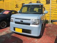 沖縄の中古車 トヨタ ピクシススペース 車両価格 63万円 リ済込 平成24年 3.1万K ライトブルー