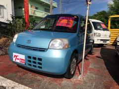 沖縄の中古車 ダイハツ エッセ 車両価格 29万円 リ済込 平成21年 9.1万K ライトブルー
