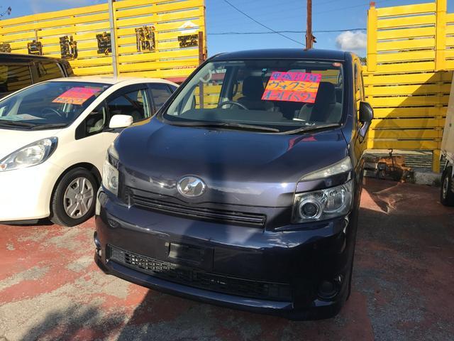 沖縄の中古車 トヨタ ヴォクシー 車両価格 49万円 リ済込 平成19年 10.1万km パープル