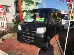 沖縄の中古車 ダイハツ ハイゼットカーゴ 車両価格 53万円 リ済込 平成24年 10.9万K ブラック