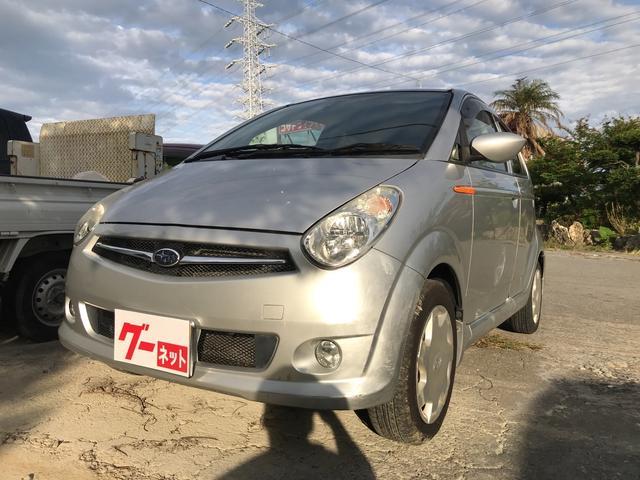 沖縄の中古車 スバル R2 車両価格 19万円 リ済込 平成20年 3.9万km シルバー