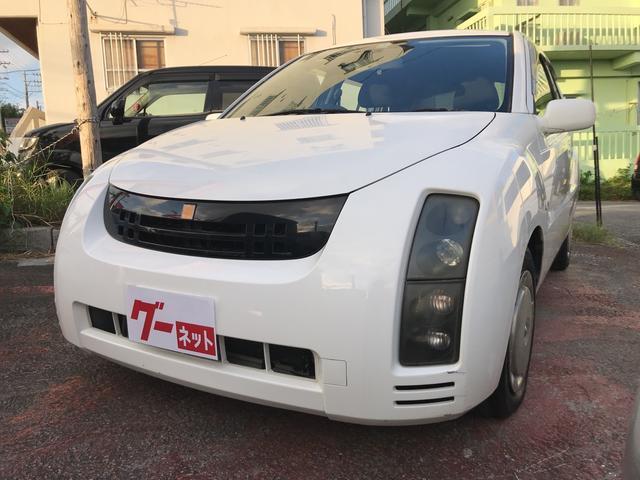 うるま市 大里自動車商会 トヨタ WiLL サイファ 1.3L 2WD CD ナビ ホワイト 11.7万km 2003(平成15)年