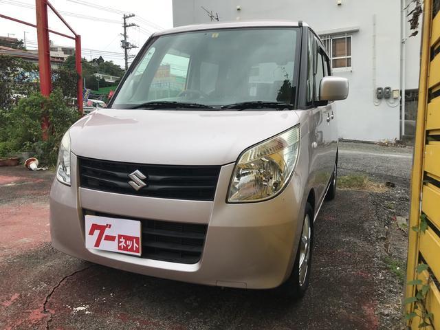 沖縄の中古車 スズキ パレット 車両価格 49万円 リ済込 平成22年 8.3万km ピンク
