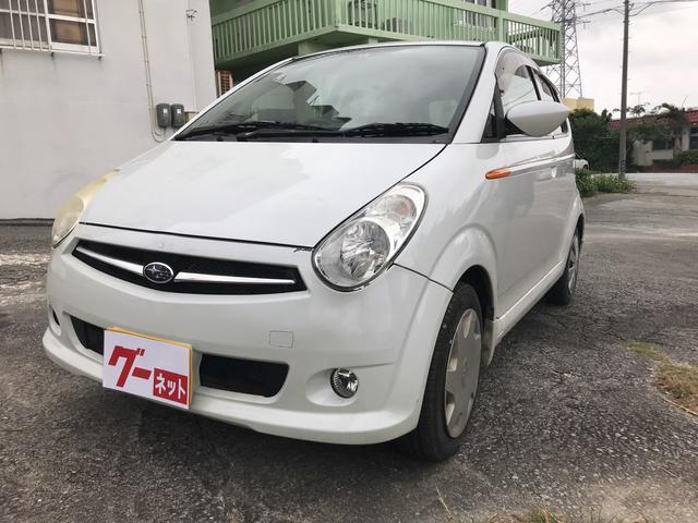 沖縄の中古車 スバル R2 車両価格 11万円 リ済込 平成19年 14.5万km パール