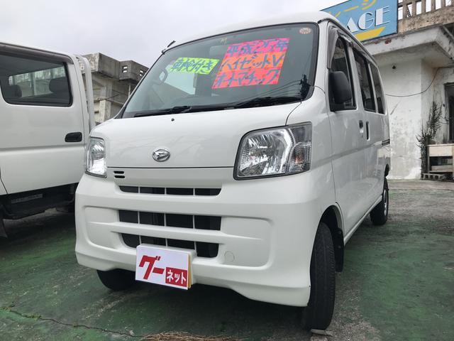 沖縄の中古車 ダイハツ ハイゼットカーゴ 車両価格 51万円 リ済込 平成25年 10.8万km ホワイト