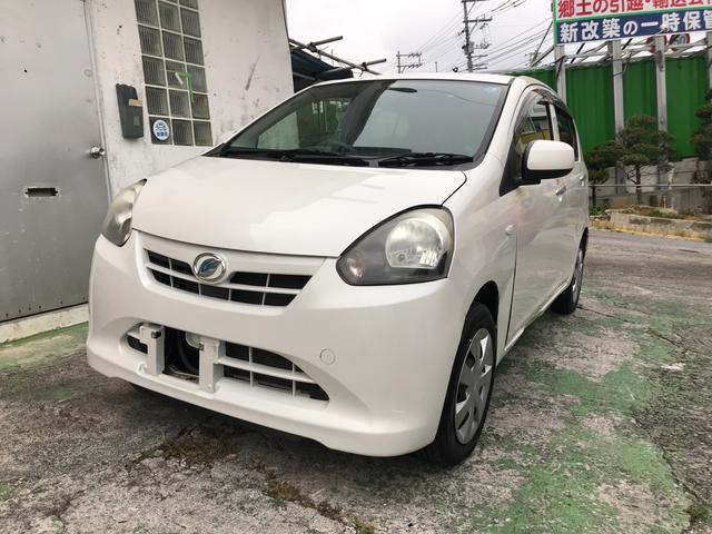 沖縄の中古車 ダイハツ ミライース 車両価格 39万円 リ済込 平成24年 7.8万km パール