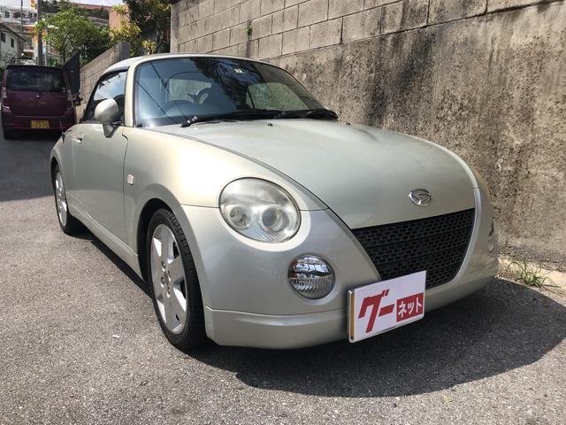 沖縄の中古車 ダイハツ コペン 車両価格 68万円 リ済込 平成18年 11.4万km シャンパンゴールド