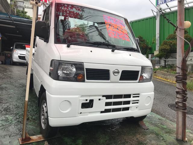 沖縄の中古車 日産 クリッパートラック 車両価格 36万円 リ済込 2008(平成20)年 5.3万km ホワイト