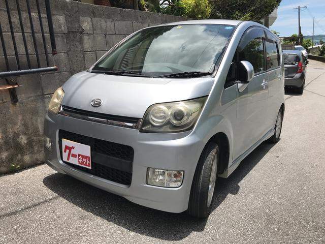沖縄の中古車 ダイハツ ムーヴ 車両価格 19万円 リ済込 2008(平成20)年 12.7万km シルバー