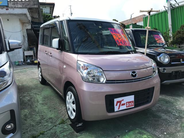 沖縄県の中古車ならフレアワゴン XS スマートキー TV ナビ パワースライドドア
