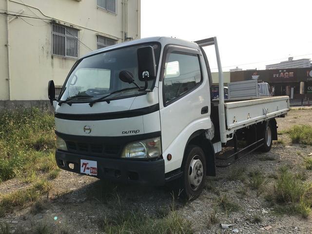 沖縄県うるま市の中古車ならデュトロ ワイドロングボディ 最大積載量2t