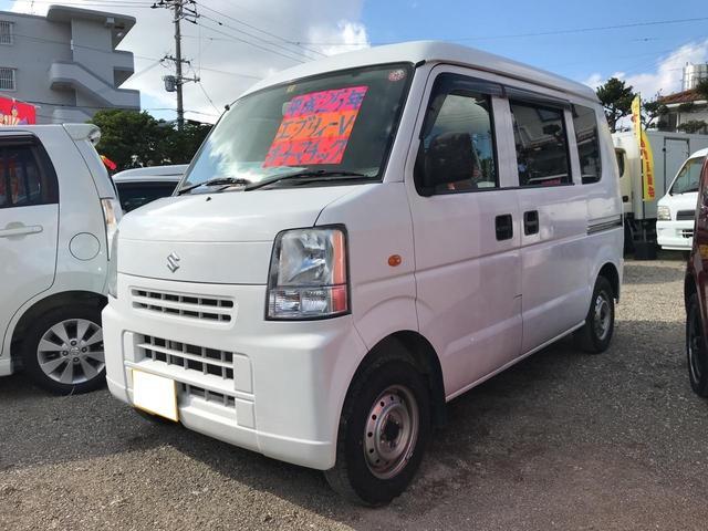 沖縄県うるま市の中古車ならエブリイ TVナビ ブルートゥース AUX バックカメラ Wエアバック