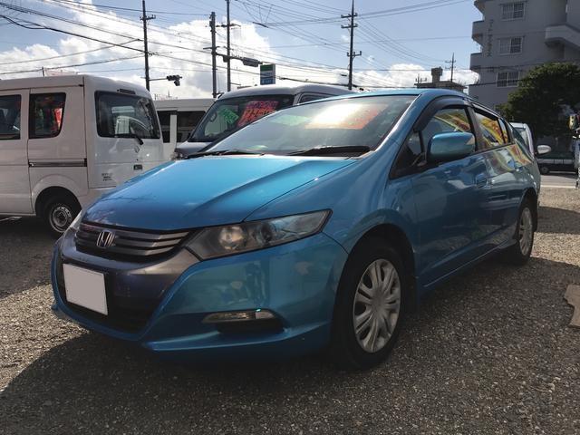 沖縄の中古車 ホンダ インサイト 車両価格 47万円 リ済込 2009(平成21)年 5.7万km ブルー