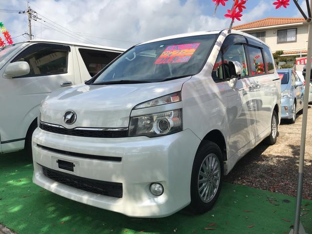 沖縄県うるま市の中古車ならヴォクシー X Lエディション TVナビ Wエアコン バックカメラ