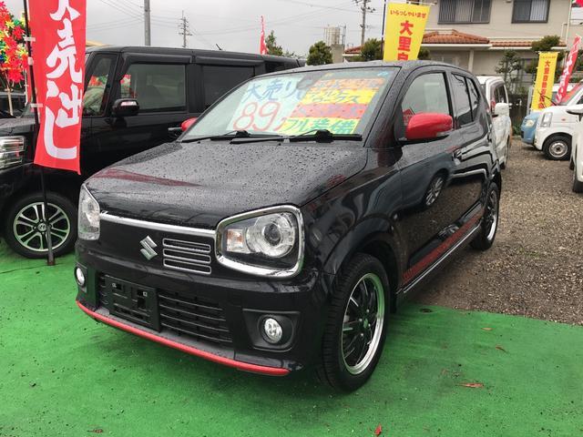 沖縄県うるま市の中古車ならアルトワークス RSターボ TVナビ 純正アルミ
