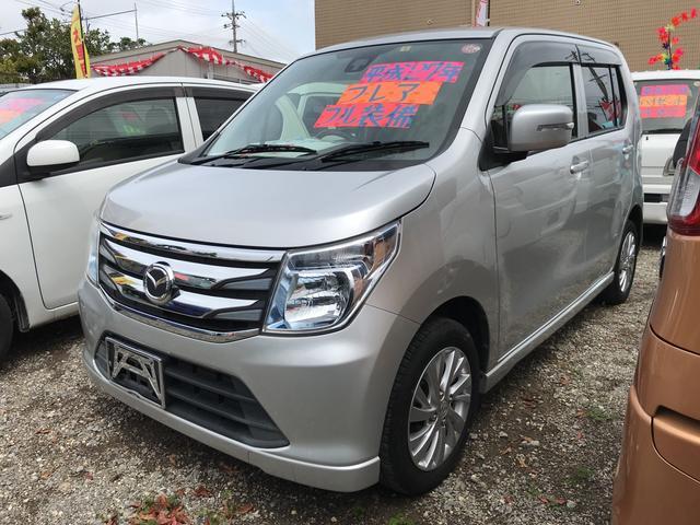 沖縄の中古車 マツダ フレア 車両価格 63万円 リ済込 2015(平成27)年 8.1万km シルバー
