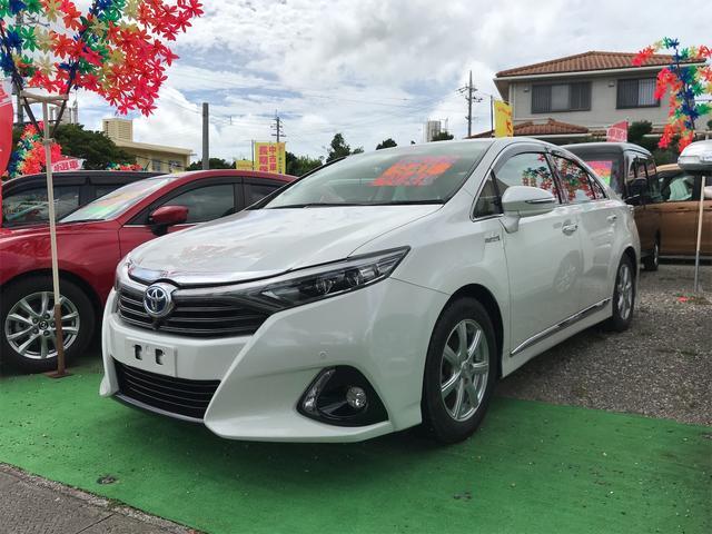 沖縄県の中古車ならSAI G 全席パワーシート プッシュスタート TVナビ