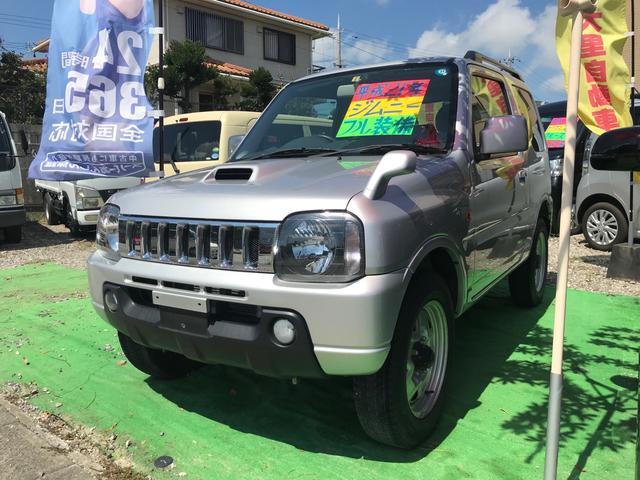 沖縄県うるま市の中古車ならジムニー XC キーレス シートヒーター ABS Wエアバック