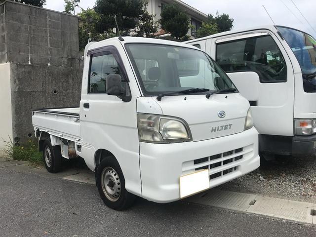 沖縄の中古車 ダイハツ ハイゼットトラック 車両価格 39万円 リ済込 2006(平成18)年 11.3万km ホワイト