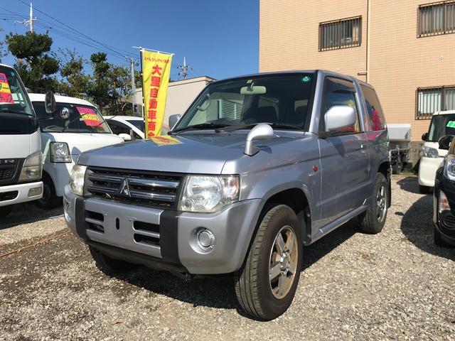 沖縄県糸満市の中古車ならパジェロミニ XR CD 純正アルミ Wエアバック パワーステアリング