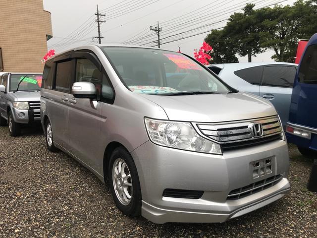 沖縄の中古車 ホンダ ステップワゴン 車両価格 59万円 リ済込 2011(平成23)年 11.0万km シルバー
