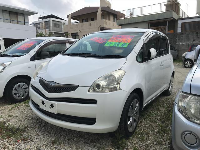 沖縄の中古車 トヨタ ラクティス 車両価格 33万円 リ済込 2009(平成21)年 5.1万km ホワイト