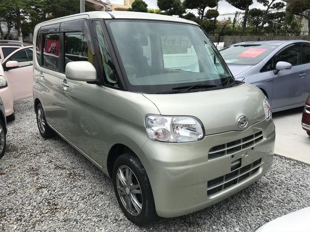 沖縄の中古車 ダイハツ タント 車両価格 42万円 リ済込 2012(平成24)年 9.2万km ゴールド