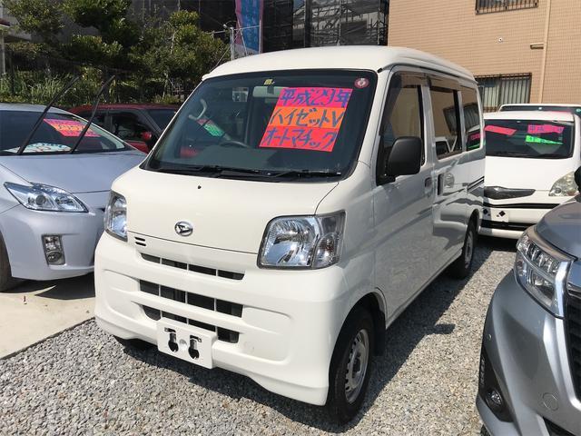 沖縄の中古車 ダイハツ ハイゼットカーゴ 車両価格 69万円 リ済込 2017(平成29)年 7.7万km ホワイト
