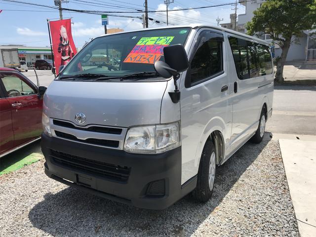 沖縄県の中古車ならハイエースバン  ナビ キーレス Wエアバック パワーウィンドウ パワーステアリング エアコン スライドドア