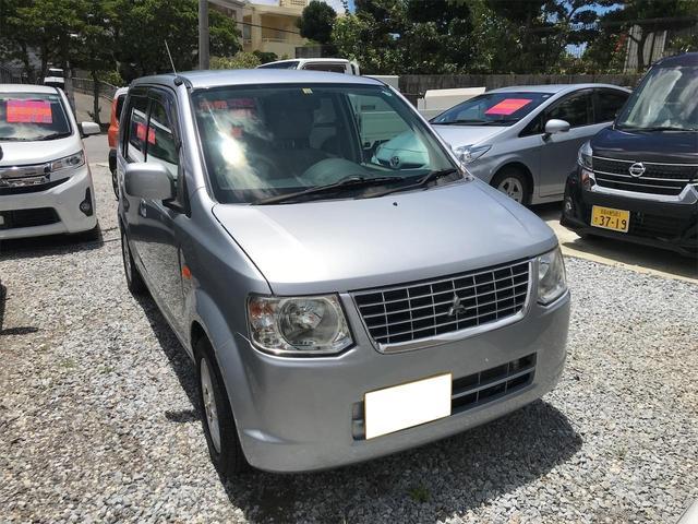 沖縄の中古車 三菱 eKワゴン 車両価格 15万円 リ済込 2013(平成25)年 6.1万km シルバー