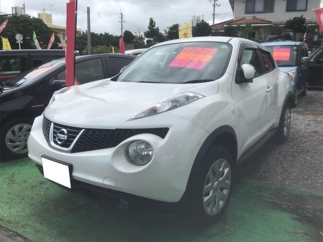 沖縄の中古車 日産 ジューク 車両価格 76万円 リ済込 2013(平成25)年 5.9万km パール