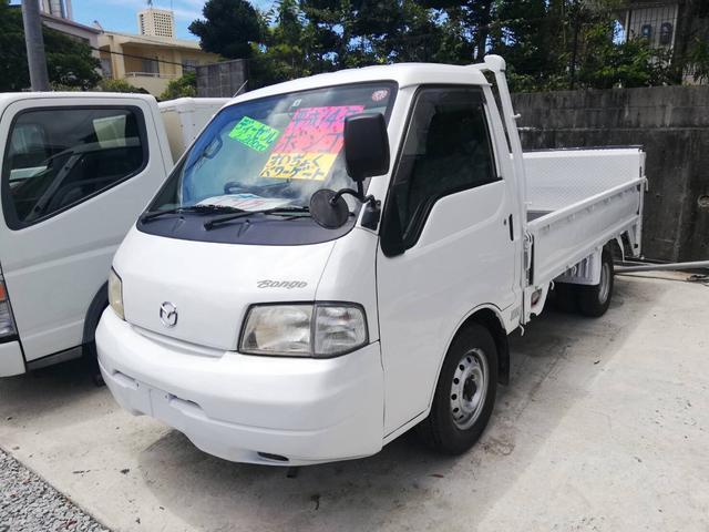 沖縄の中古車 マツダ ボンゴトラック 車両価格 79万円 リ済込 2002(平成14)年 11.9万km ホワイト