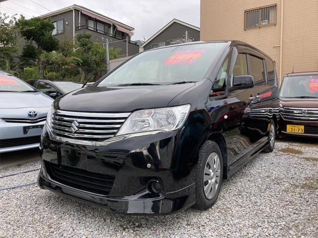 沖縄の中古車 スズキ ランディ 車両価格 58万円 リ済込 2012(平成24)年 10.4万km ブラック