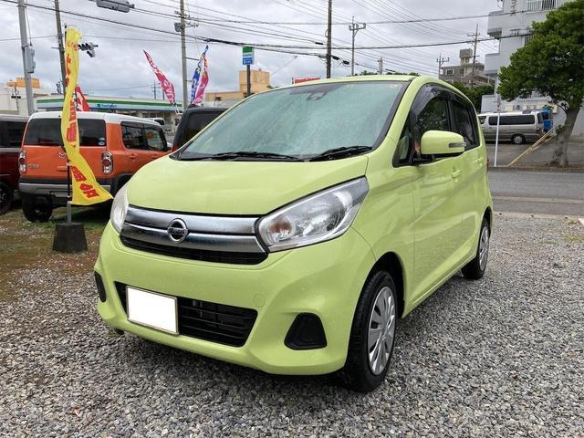 沖縄県の中古車ならデイズ X プッシュスタート スマートキー Wエアバック アイドリングストップ ABS パワーステアリング