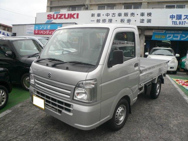 沖縄の中古車 スズキ キャリイトラック 車両価格 70万円 リ未 2019(平成31)年 64km グレー