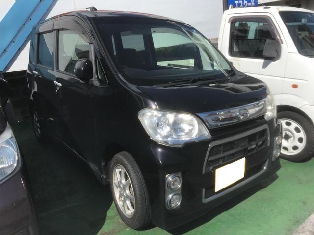 沖縄の中古車 ダイハツ タントエグゼ 車両価格 39万円 リ済込 2012(平成24)年 11.0万km ブラック