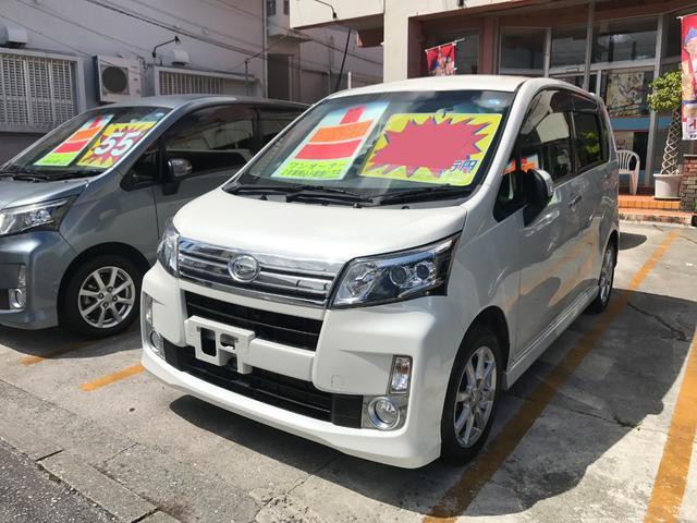 沖縄の中古車 ダイハツ ムーヴ 車両価格 49万円 リ済込 2013(平成25)年 9.5万km パール