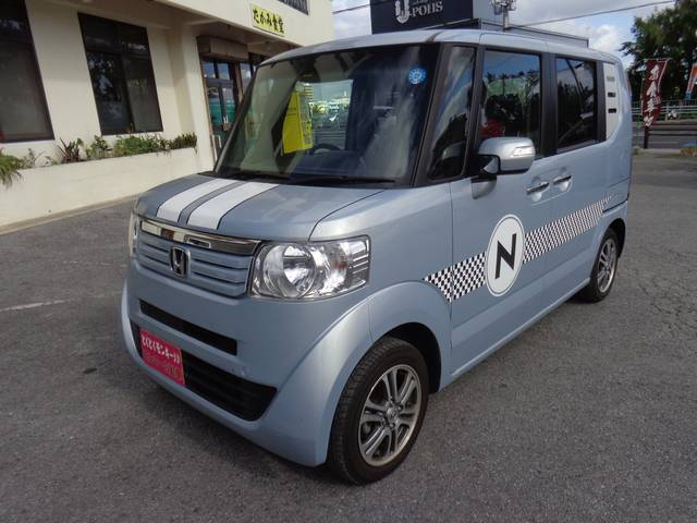 沖縄県沖縄市の中古車ならN-BOX G SSパッケージ