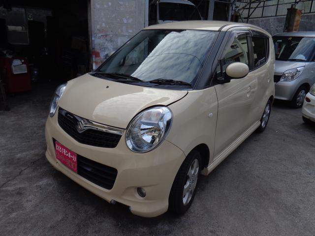 沖縄の中古車 スズキ MRワゴン 車両価格 39万円 リ済込 平成19年 5.7万km ベージュM