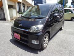沖縄の中古車 ダイハツ ムーヴ 車両価格 39万円 リ済込 平成20年 10.5万K ブラック