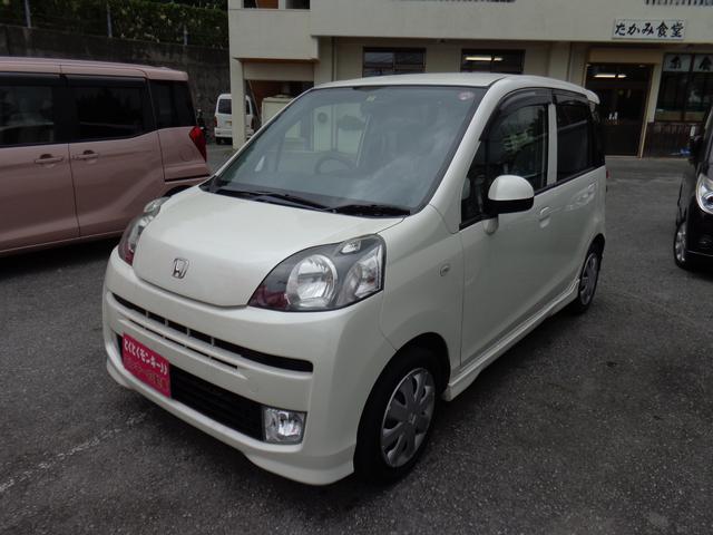 沖縄の中古車 ホンダ ライフ 車両価格 39万円 リ済込 平成22年 7.3万km パール