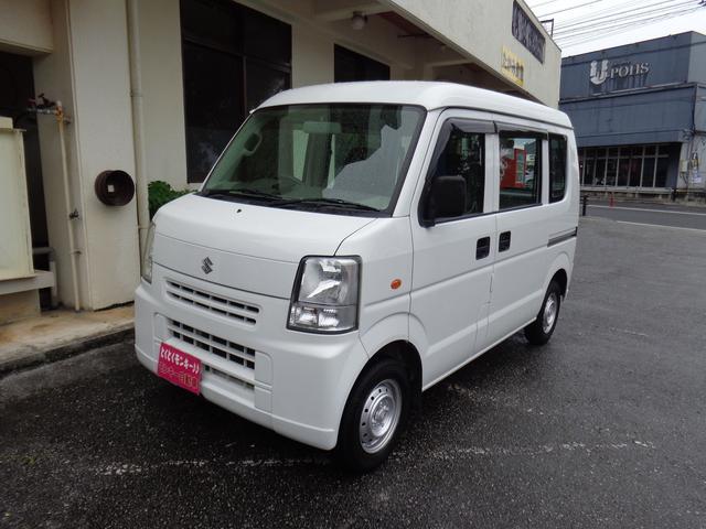 沖縄の中古車 スズキ エブリイ 車両価格 35万円 リ済込 平成19年 11.6万km ホワイト