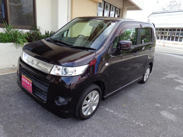 沖縄の中古車 スズキ ワゴンRスティングレー 車両価格 48万円 リ済込 平成20年 7.3万km パープル