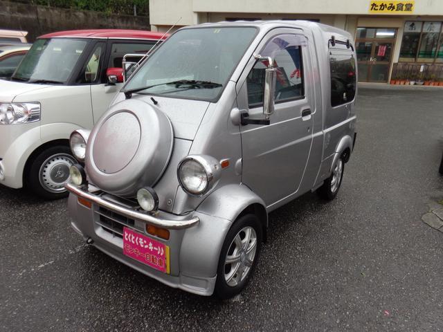 沖縄の中古車 ダイハツ ミゼットII 車両価格 49万円 リ済込 1999(平成11)年 7.7万km シルバー