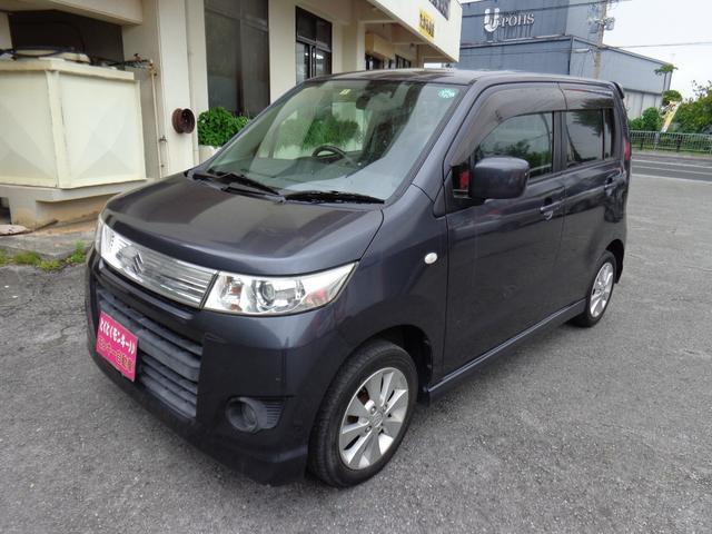 沖縄の中古車 スズキ ワゴンRスティングレー 車両価格 49万円 リ済込 平成21年 7.4万km グレー